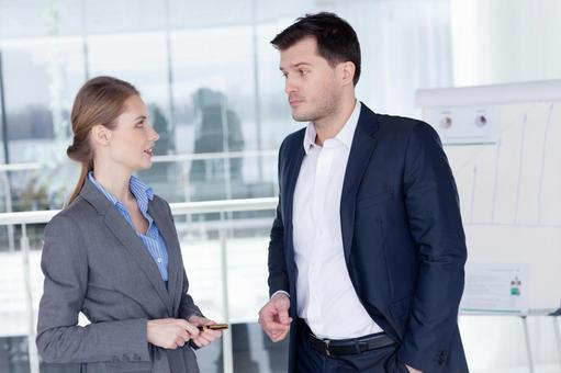 Businessman and business woman 6