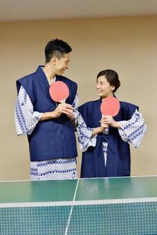 这是乒乓球说到温泉! 6