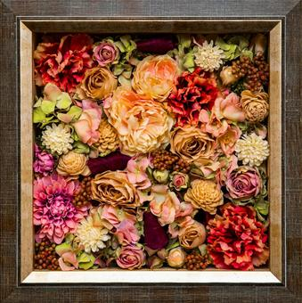 Flower picture frame flower