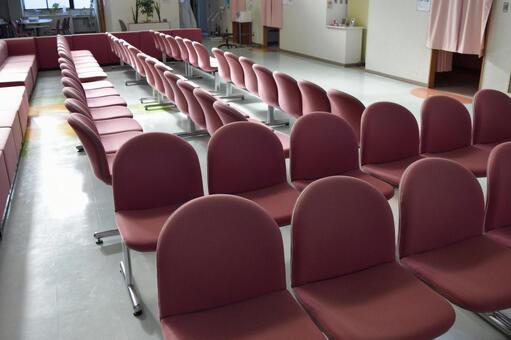 의료 시설의 대합실