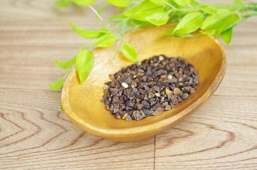 Buckwheat fruit specific raw material