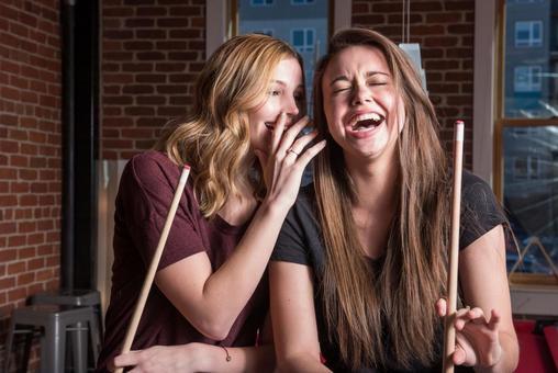 여자 친구와 비밀 이야기 1