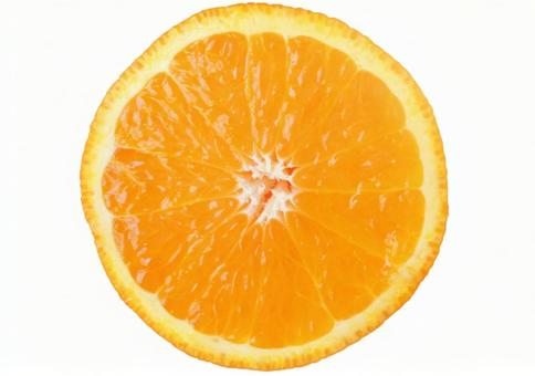 Orange cutout