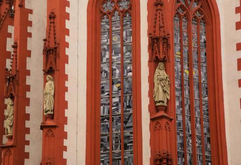 St. Mary's Chapel Exterior wall decoration close-up photo