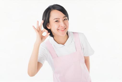 Smiley caregiver 3