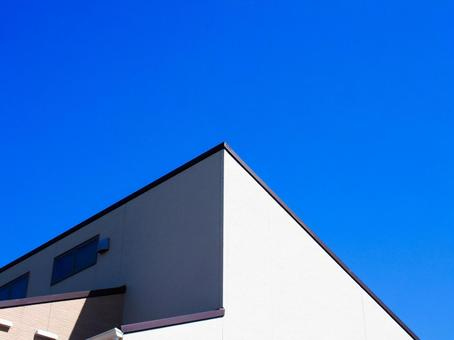 Triangular roof