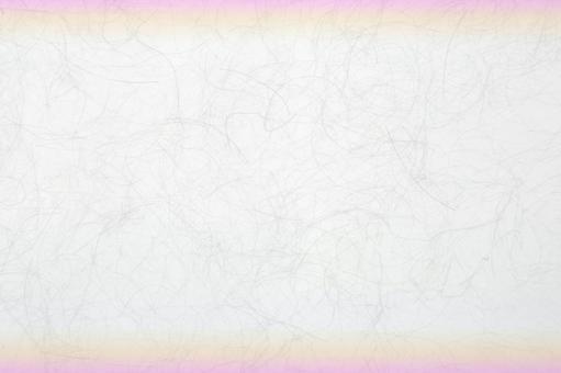 Japanese paper - pink gradation