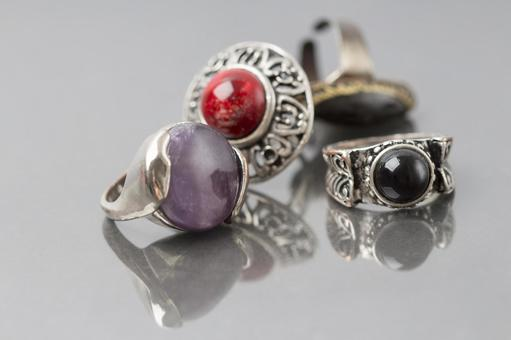 Four stone rings
