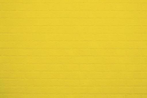 컬러 벽돌 벽 시리즈 (유채 색 가로)