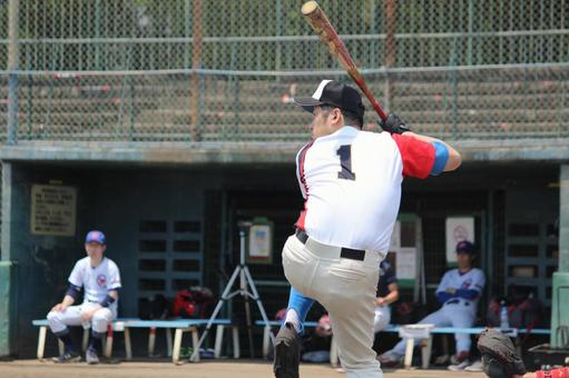 Male person Baseball sports One-legged method