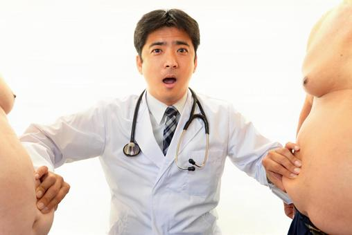 擔心的醫生
