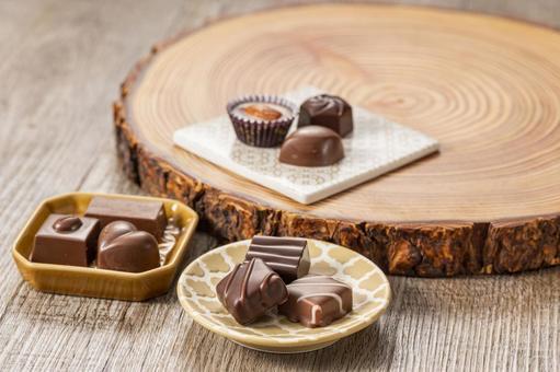 Chocolate valentine day