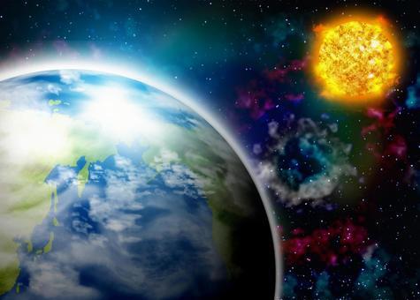 지구의 태양