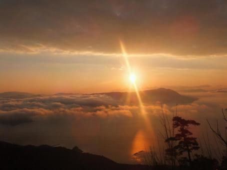 Miyajima Misen First sunrise