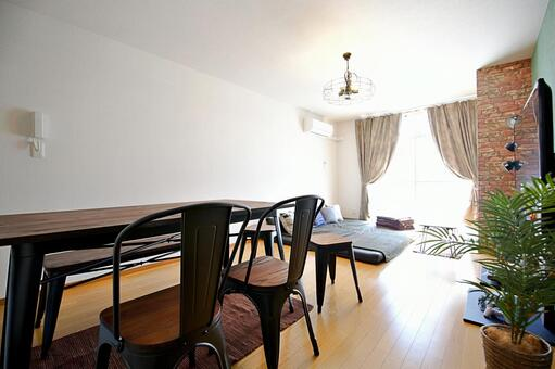 Fashionable interior living living room