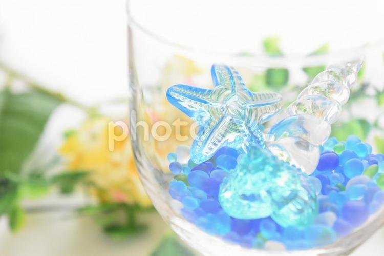 涼しげなグラス6の写真