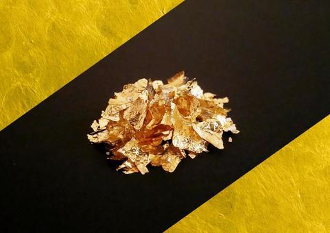 "Shining gold powder ""base black"""