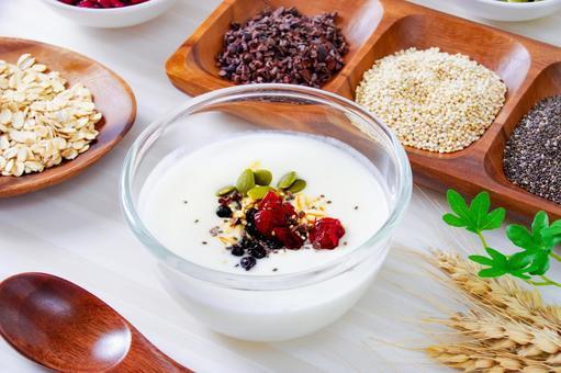 Superfoods and yogurt