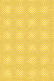 ドット柄の布風 オレンジ色 縦型