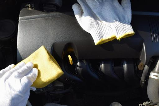 Car cleaning inspection image