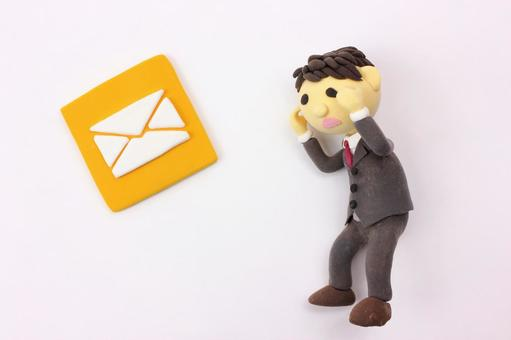 Clay Art Icon Mail 4