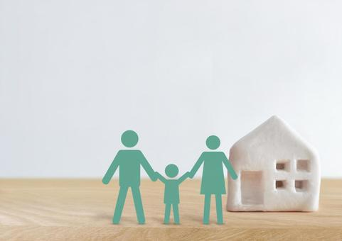Image of family and home