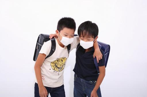 感冒的小學生2