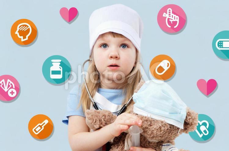 子供のお医者さんの写真