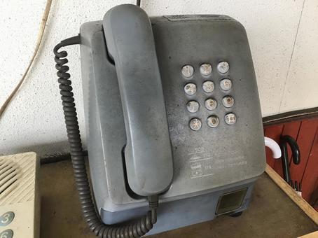 電話(灰色)