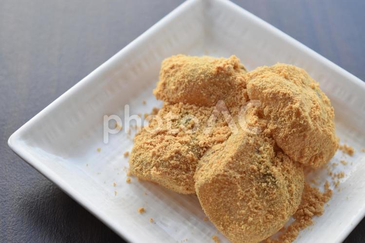 わらび餅の写真