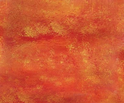 Oil painting texture red