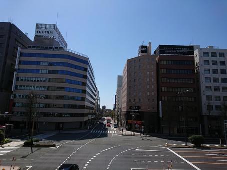 Skyscrapers in Niigata City