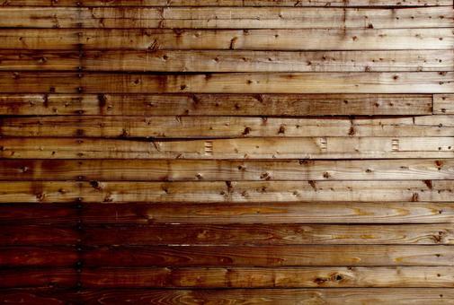 レトロ感ある木の板 背景素材