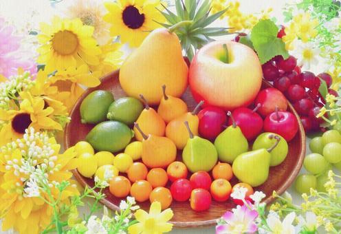 滿滿一盤水果