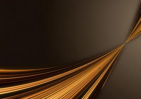 Line wave background material (gold)