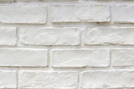 벽돌 흰색 페인트 1