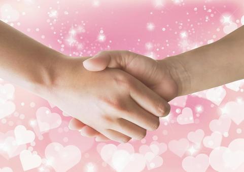 握手 - 性別 - 心