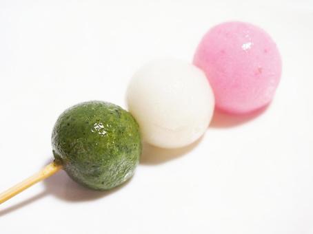 Three-color dumplings. 01