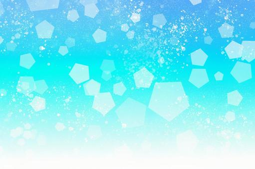 Soda water Carbonated texture [By PSD layer] Background material Glitter Summer Blue Blue Light blue Cool