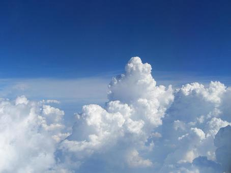 하늘의 공중 촬영 004