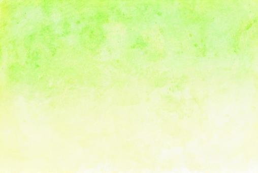 Yellow-green gradient background New Year's card material Blur Japanese paper style