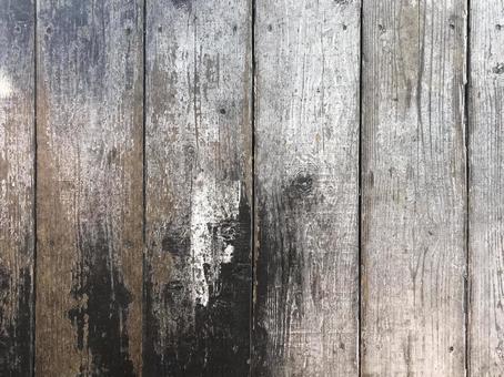 Antique board wall