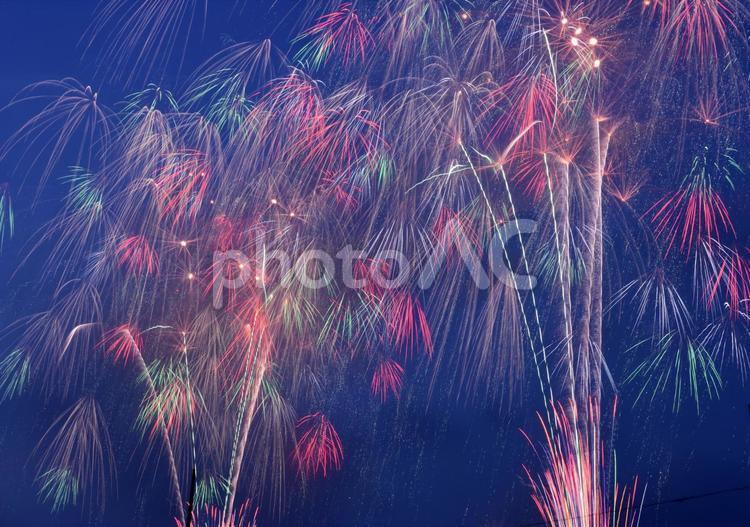 厚木鮎祭りの花火の写真