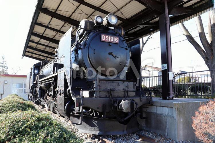 SL 蒸気機関車 D51916の写真