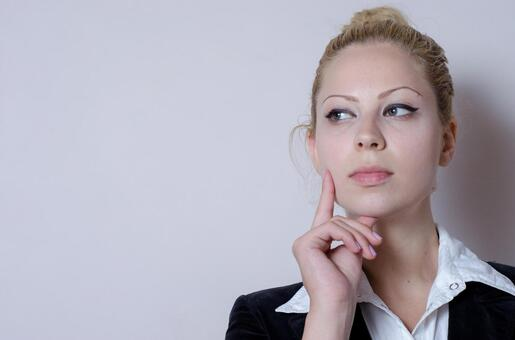 Business style female gesturing 8