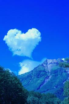 Kamikochi heart cloud