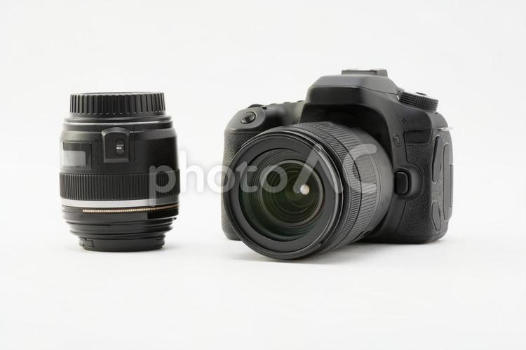 一眼レフカメラ、レンズイメージ01の写真