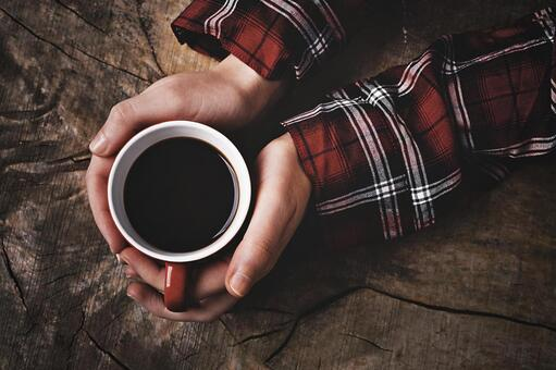 Hand with coffee 29