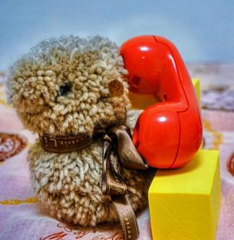 クマの電話_3