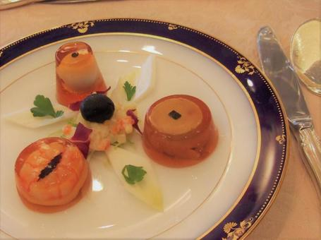 French course appetizer